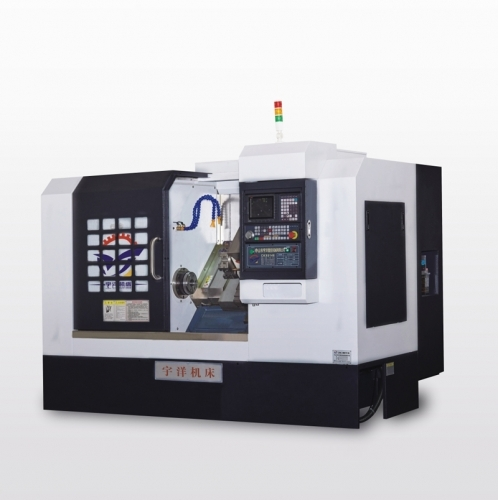 Yuyang CNC machinery automatic CNC lathe operating procedures